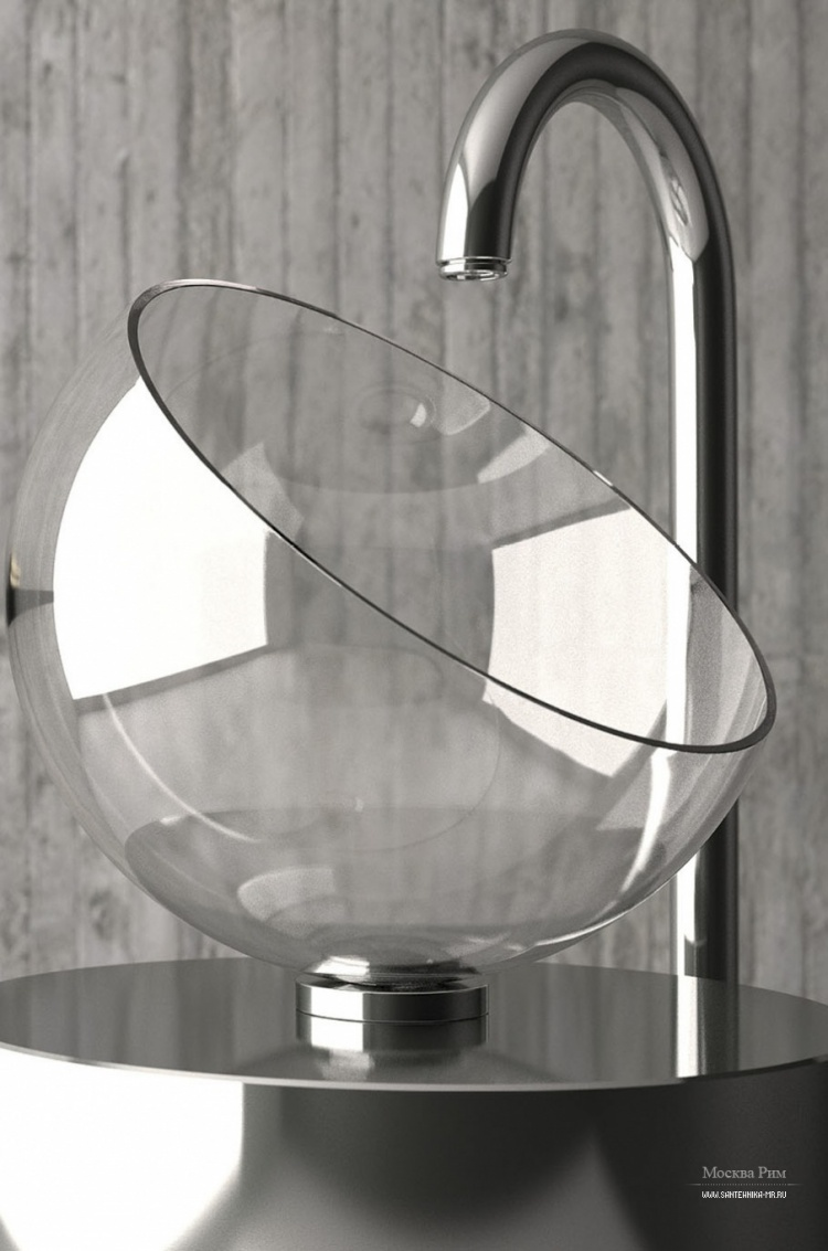 Накладная раковина Moon, Glass Design